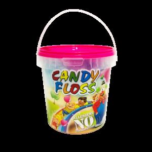 Candyfloss i bæger